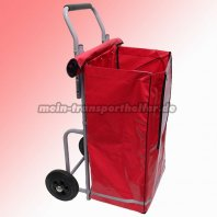 Zeitungsroller Strong mit Big Bag in rot