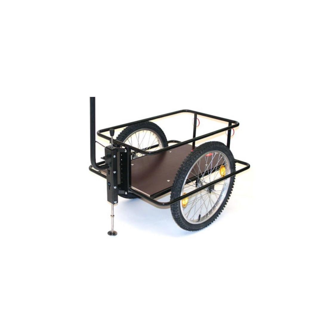 handwagen mit h henverstellbarer deichsel und bodenplatte. Black Bedroom Furniture Sets. Home Design Ideas