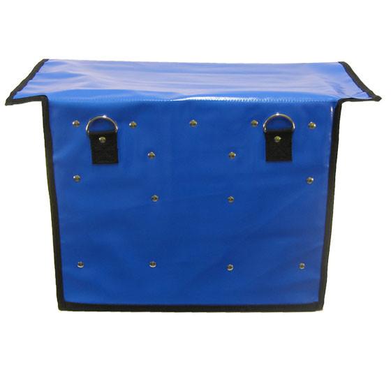 zeitungstasche rollertasche porty in blau aus lkw plane. Black Bedroom Furniture Sets. Home Design Ideas