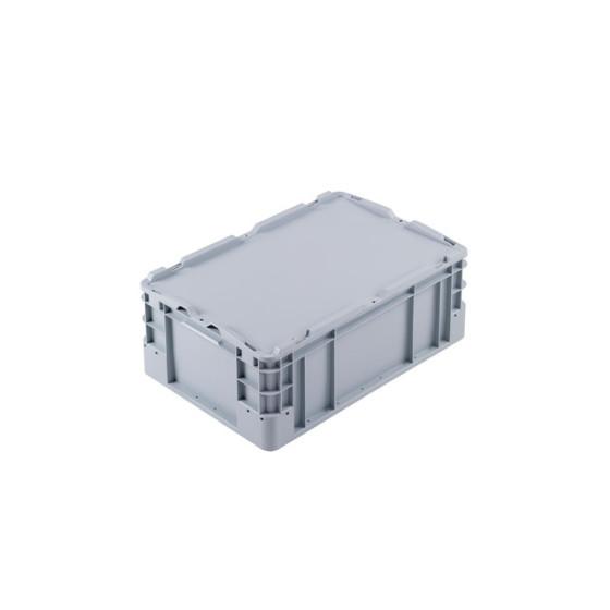 stapelbarer kunststoffbeh lter gr e 60x40x42cm auf europalette. Black Bedroom Furniture Sets. Home Design Ideas